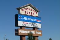 Plaza sign